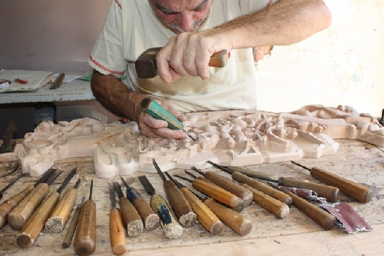 Strumenti Per Lavorare Il Legno : Meister set utensili per intaglio a tacche amazon fai da te